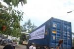 Pemberangkatan Container