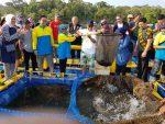 Panen di Pangandaran, Aquatec dan UNPAD Bersinergi