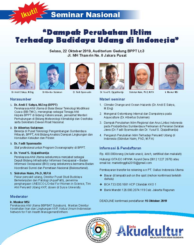 Promo Seminar Budidaya Udang