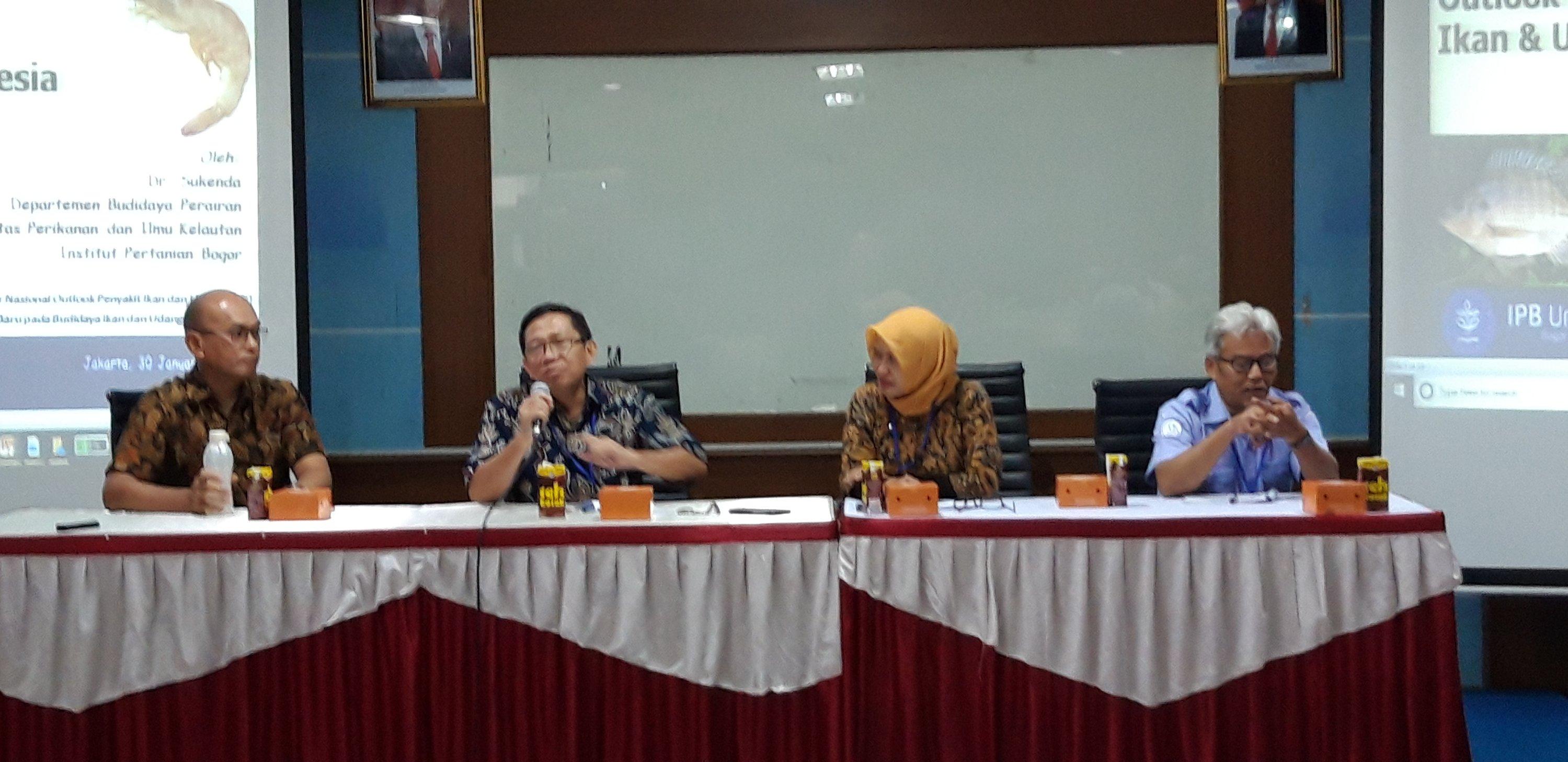 Seminar Outlook Penyakit Ikan dan Udang Ingatkan Pelaku Usaha Waspada Ancaman Penyakit